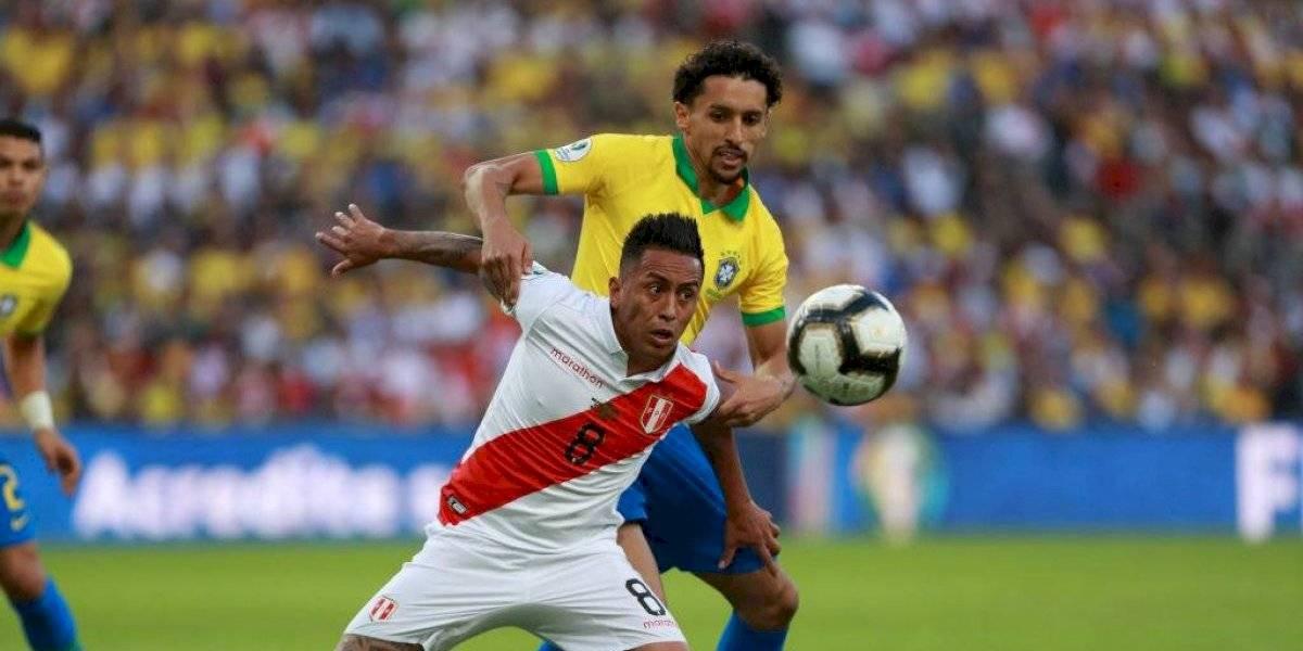 Uno a uno de Perú ante Brasil en la final de la Copa América: Cueva fue el mejor y Zambrano volvió a fallar