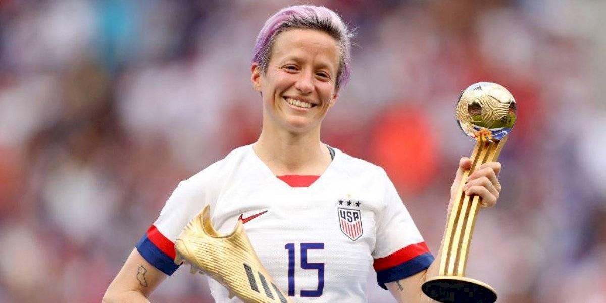 """Dedicado a Donald: La """"anti Trump"""", Megan Rapinoe fue elegida la mejor futbolista del Mundial femenino"""