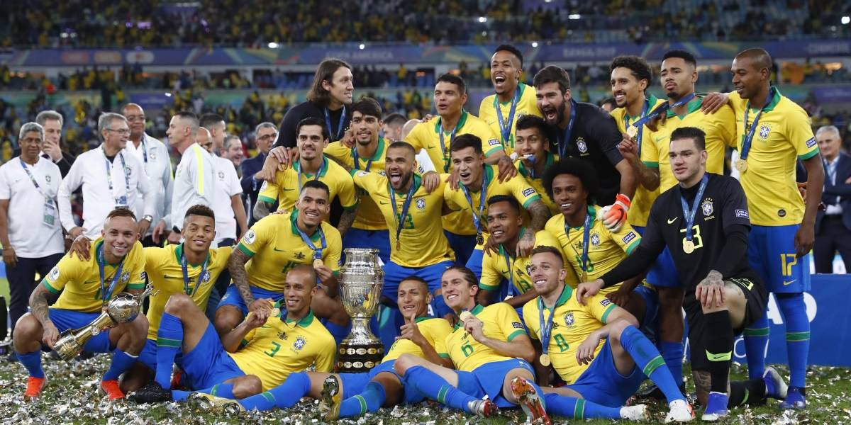 ¡Imbatibles! Brasil se corona en la Copa América 2019