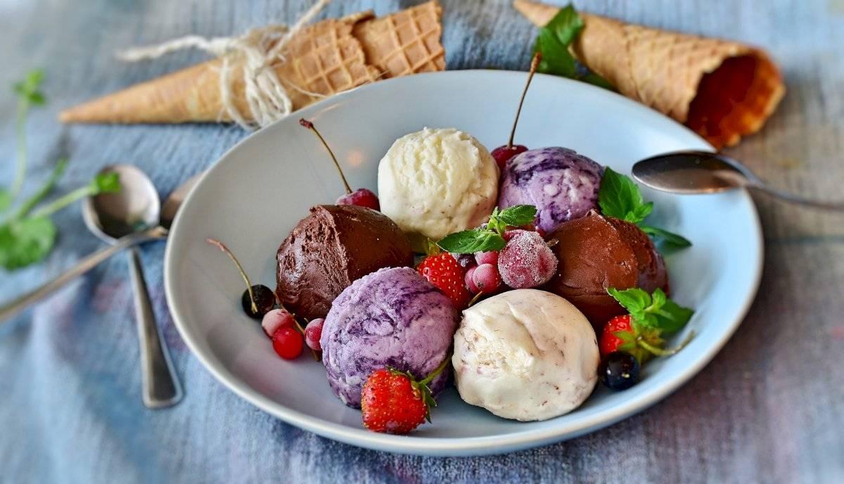 Gelato sorvete italiano