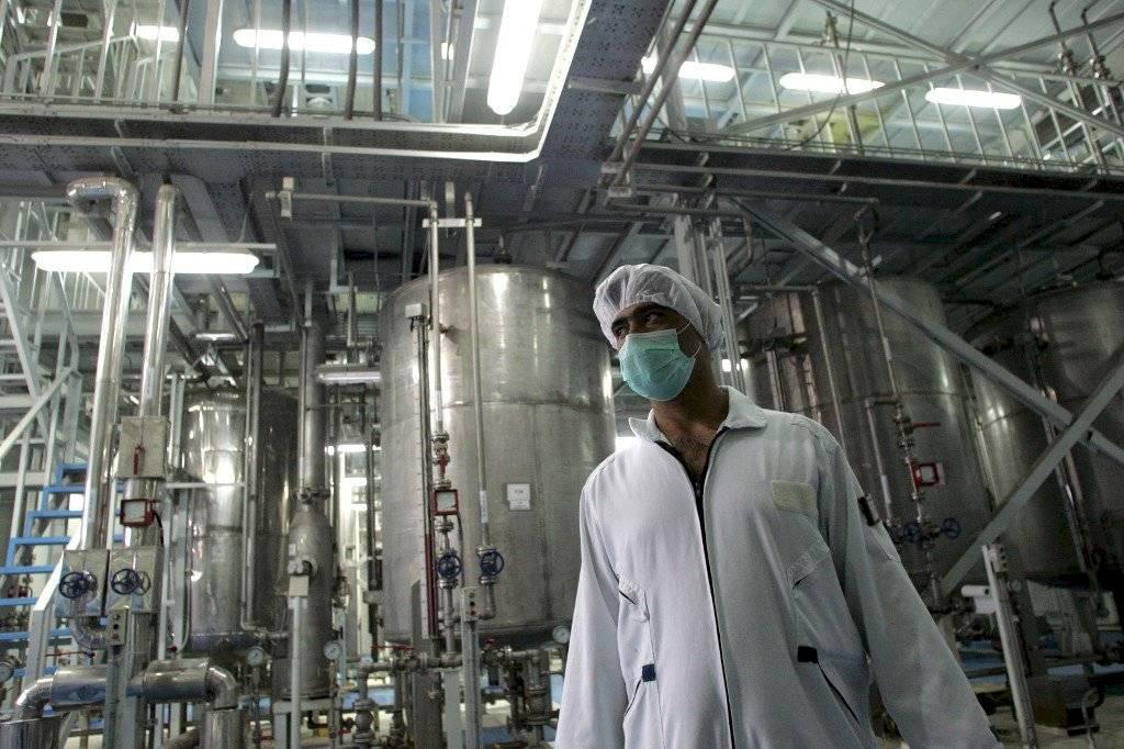 Uranio enriquecido en Irán