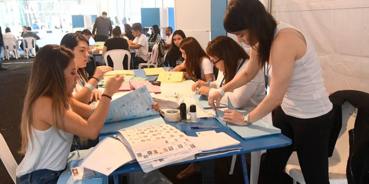 TSE refuerza protocolos de juntas receptoras de votos