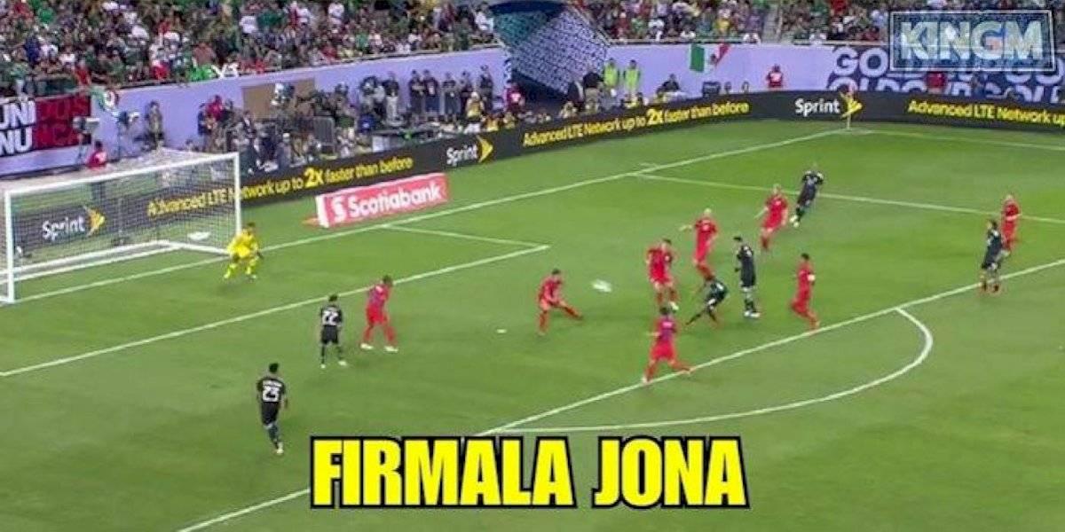 Los memes del triunfo de México en la Copa Oro