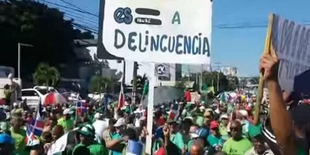 El PRM anuncia movilizaciones en pos de la democracia