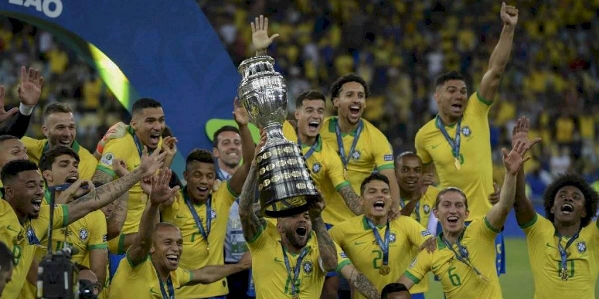 Brasil alcanza su novena Copa América en el mítico Maracaná