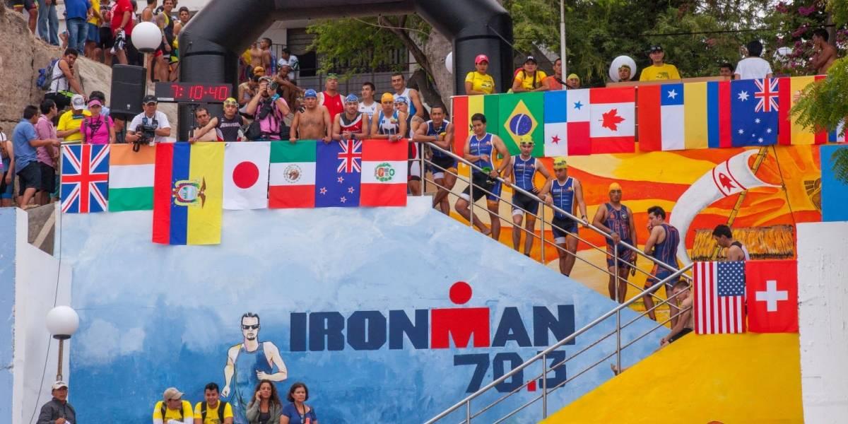 Australiano Rea y la estadounidense Piampiano ganan Ironman 70.3 de Manta