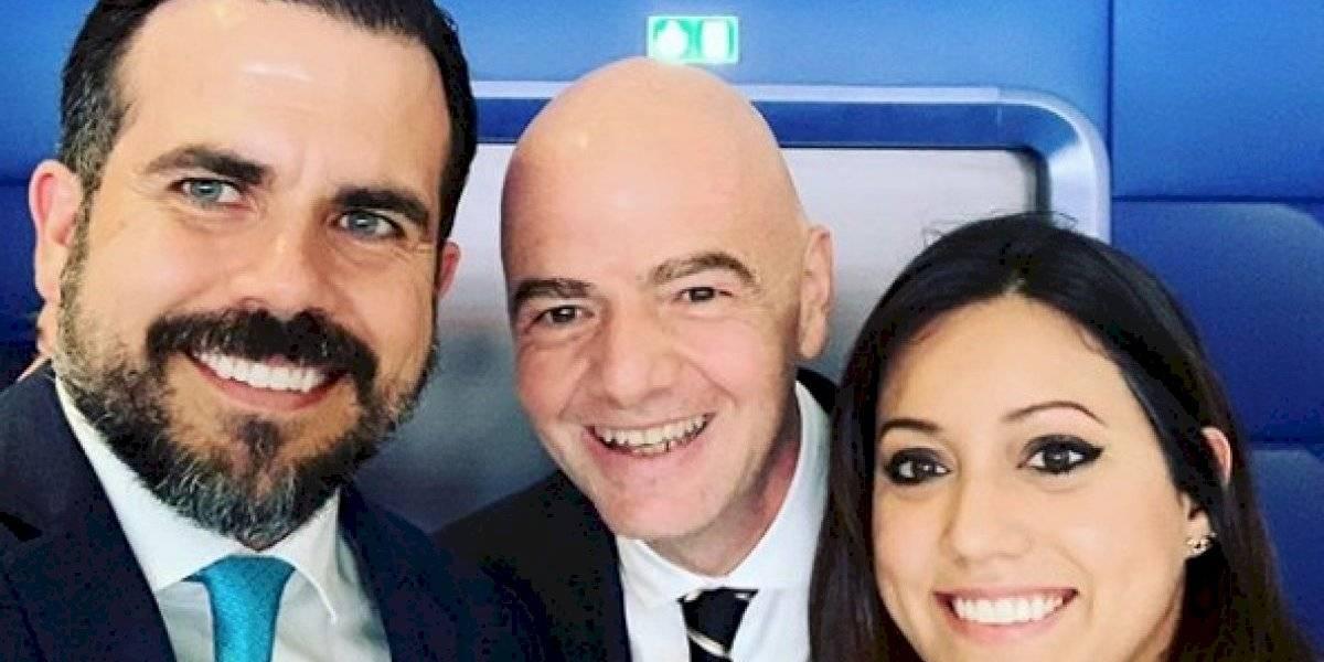 Gobernador disfruta de final de Mundial Femenino de la FIFA
