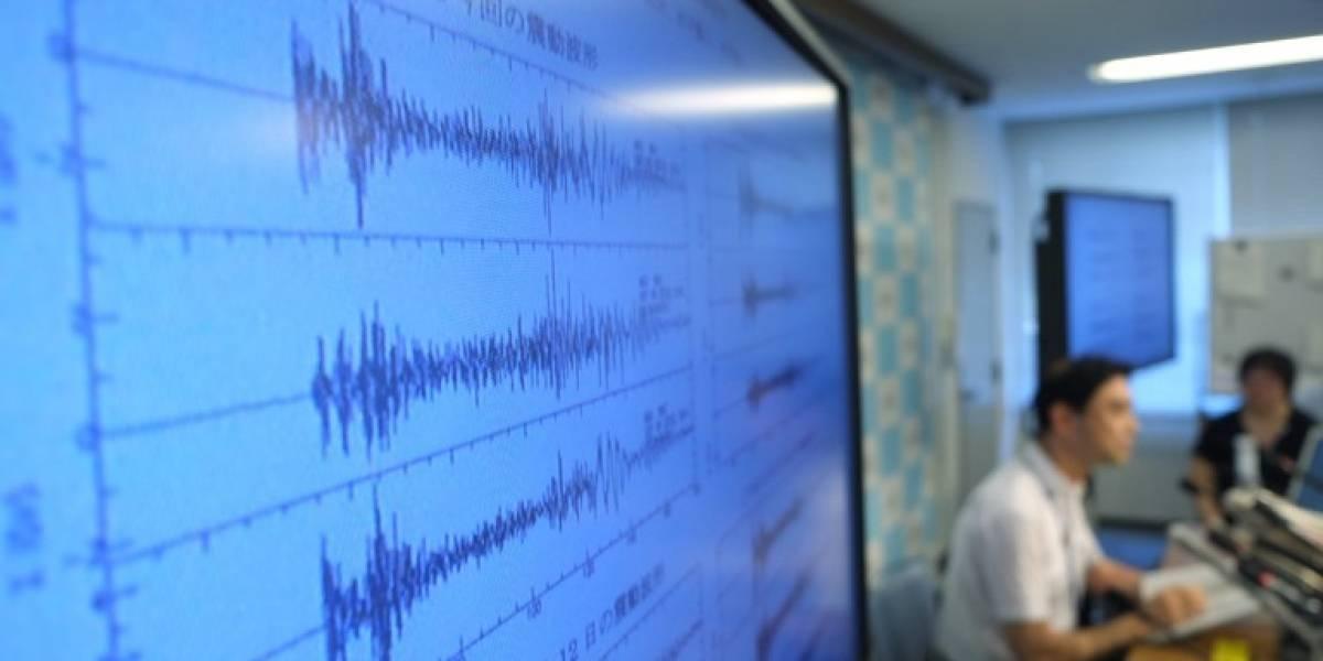 Se registra temblor de 5.0 grados al sur de Champerico