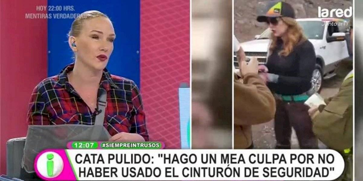 """Catalina Pulido se defiende y acusa violencia policial: """"Me sentí como Pablo Escobar"""""""