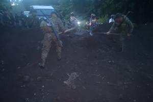 Localizan aeronave incendiada en Escuintla