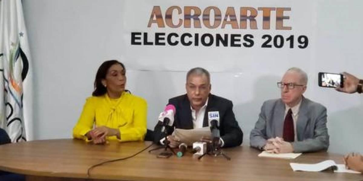 Alexis Beltré fue declarado presidente de Acroarte por la Junta de Elecciones