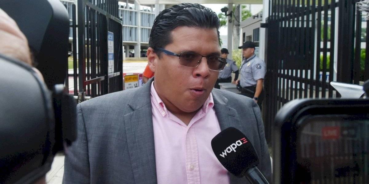 Alfonso Orona sale del Tribunal Federal