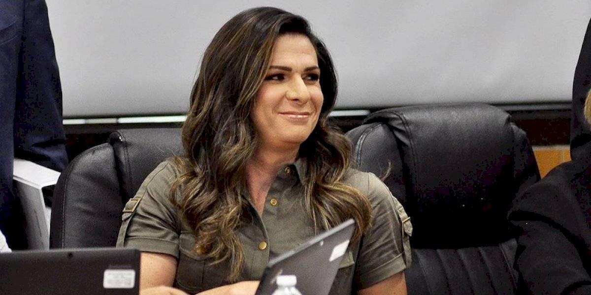 Ana Gabriela Guevara se enfrenta con diputados