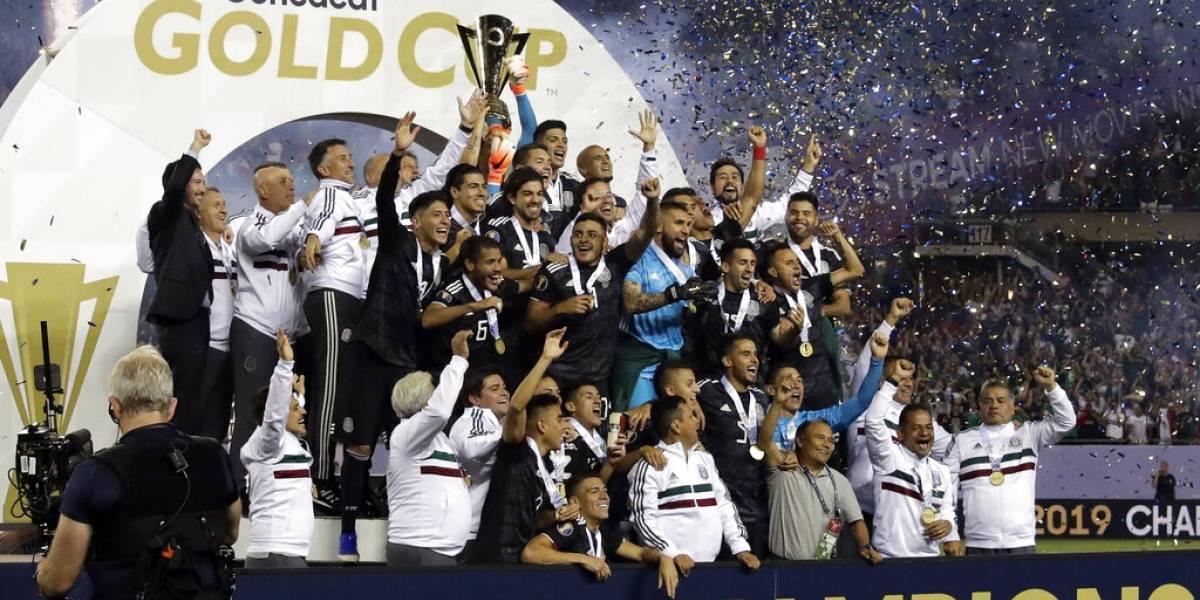México derrotó con lo justo a Estados Unidos y se coronó campeón de la Copa de Oro