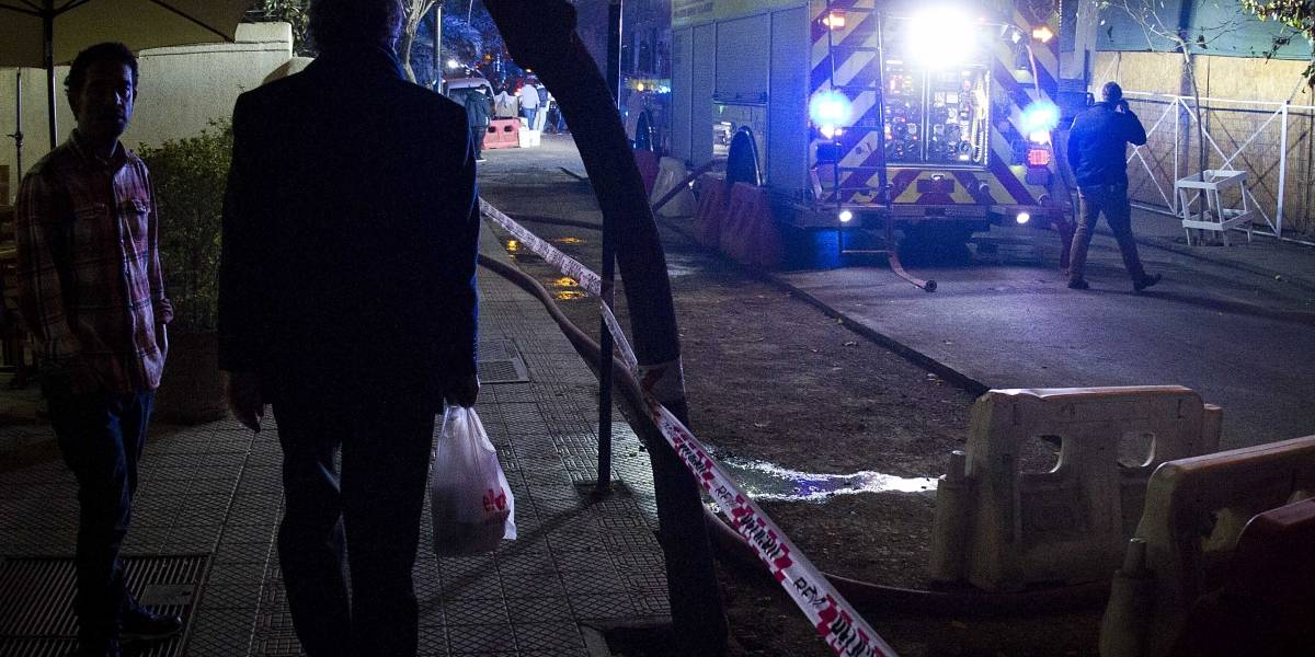 Reo en aislamiento quemó su colchón y provocó amago de incendio en Santiago 1