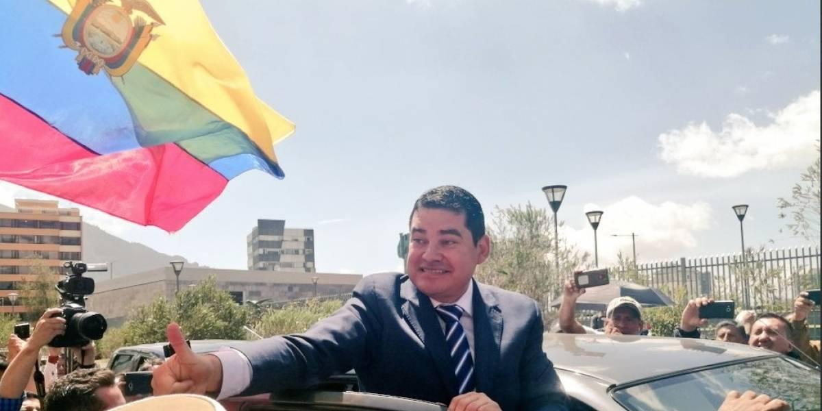 Jueza de Ibarra acepta trámite de medidas cautelares solicitadas por José Tuárez