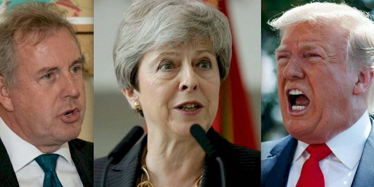 """""""No trataremos más con él"""": la respuesta de Trump a embajador británico en EEUU y el palo que le tiró a Theresa May"""