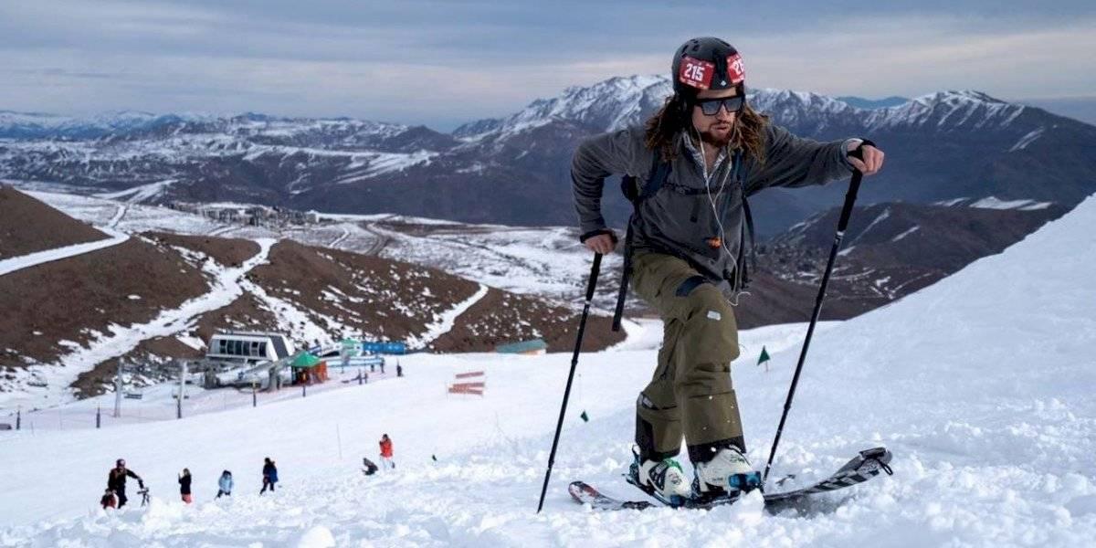 Buenas condiciones de nieve y alto nivel de corredores marcaron la primera fecha del Campeonato Nacional de Randonée