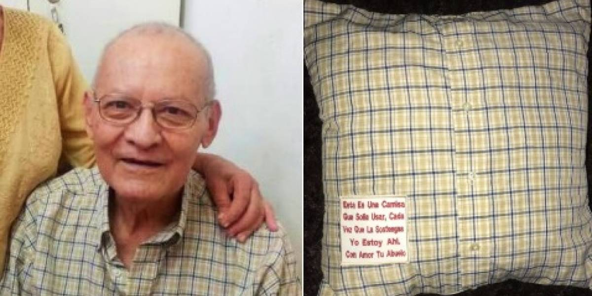 Lo más lindo que vi en semanas: el regalo que les permitió sentir nuevamente a su abuelo fallecido que hizo llorar a todos en Internet