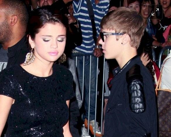 Justin Bieber y Selena Gomez Getty Images