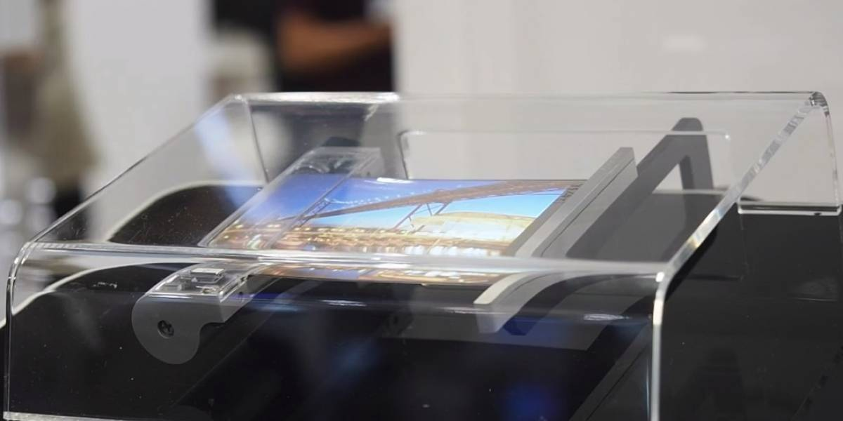 Sony está trabajando en un celular con pantalla enrollable para competir con Samsung y Huawei