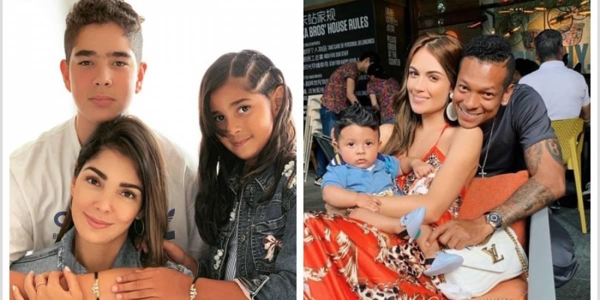 """""""Lo que no hace Guarín"""", dicen por fotos del nuevo amor de Andreina Fiallo con los hijos del jugador"""