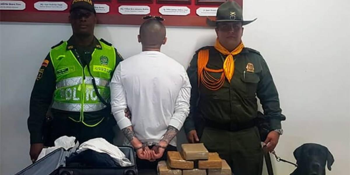 Chino pretendía llevar cargamento ilegal de Colombia a Shangái