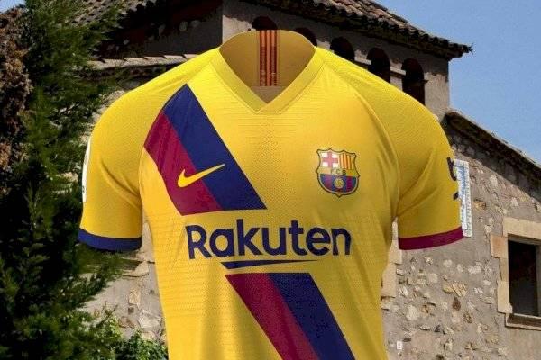 cd356bbd16b Barcelona presenta nueva camiseta