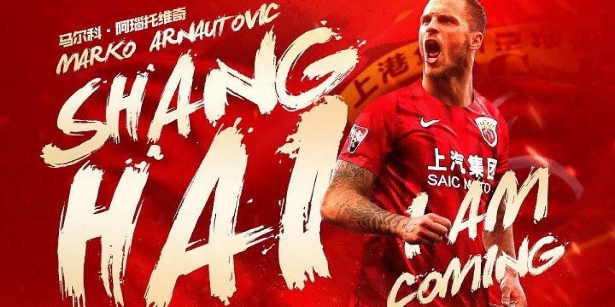 El gigante vuelve a golpear el mercado: Arnautovic y El Shaarawy ficharon en la Superliga de China