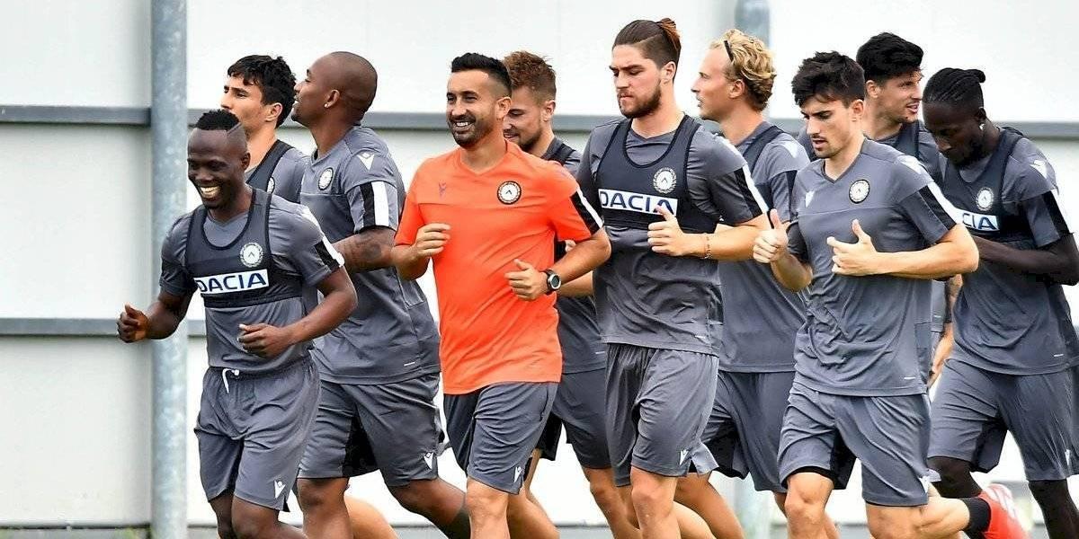 Francisco Sierralta se suma a la pretemporada de Udinese para mostrarse como opción en el recambio de la Roja
