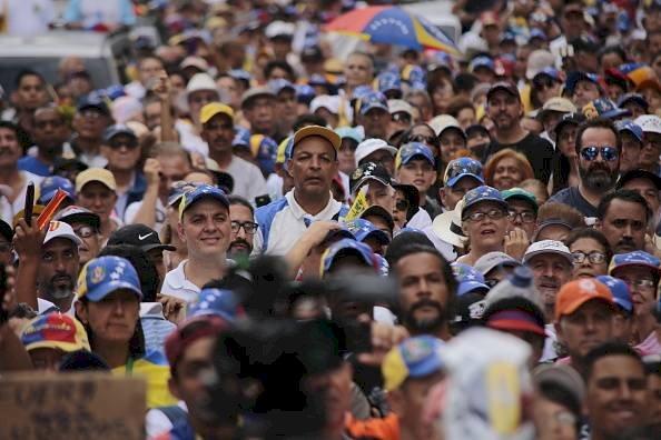 Venezolanos Getty Imágenes