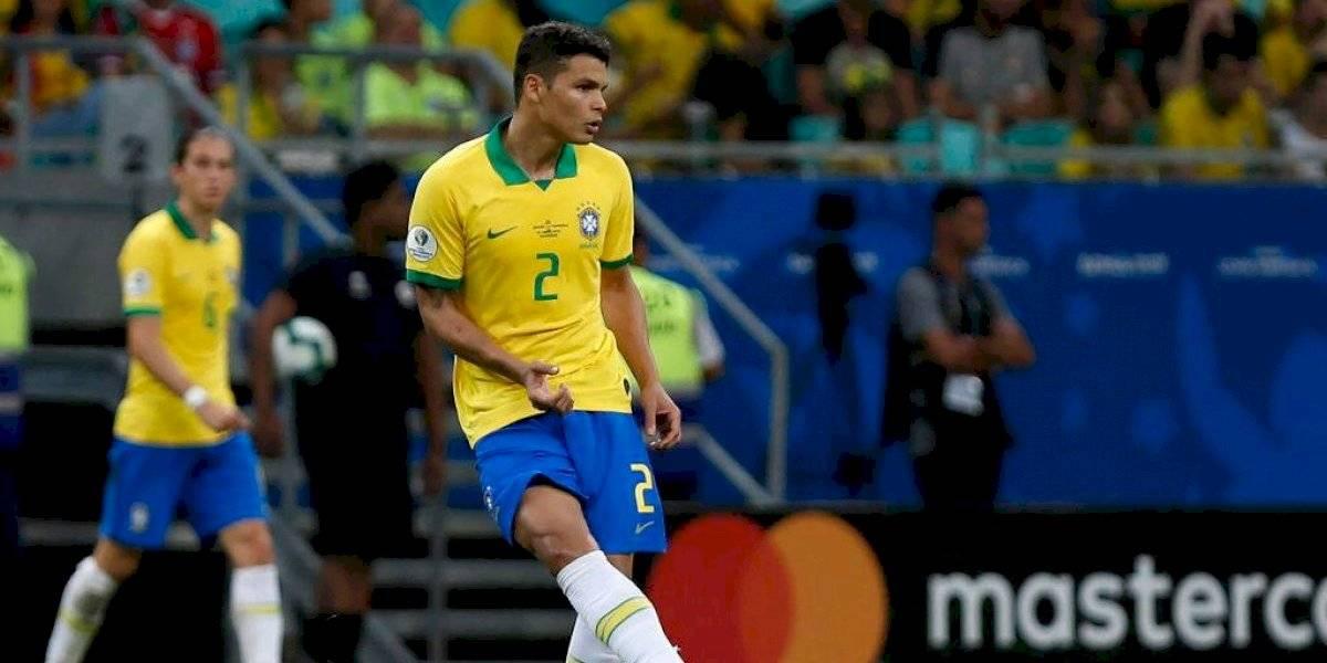 """Thiago Silva sacó la historia para responderle a Lionel Messi: """"Tenemos cinco estrellas y ninguna fue robada"""""""