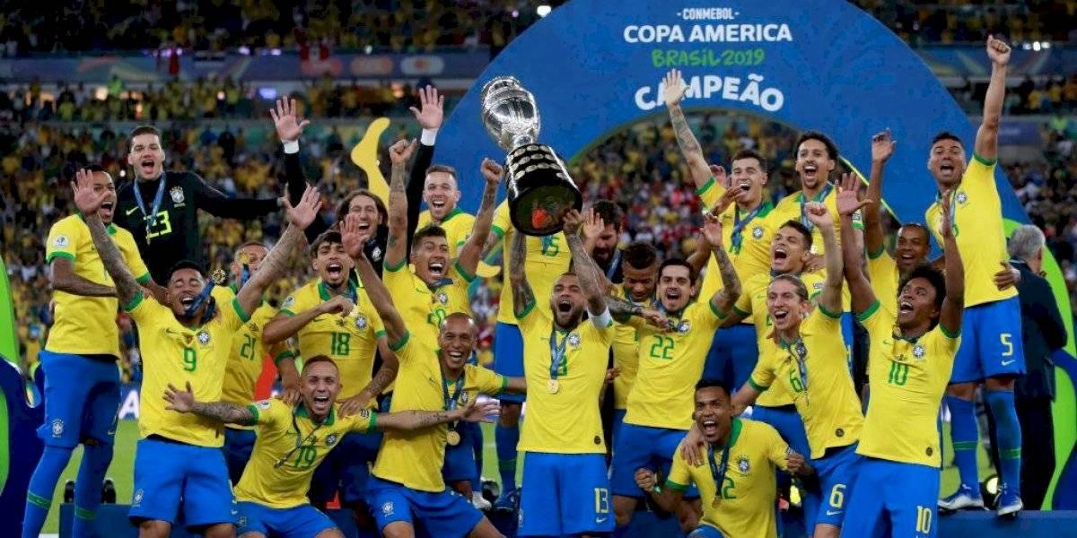 Brasil pentacampeao, seguido del bicampeón Chile y Uruguay: El palmarés final de la Copa América moderna