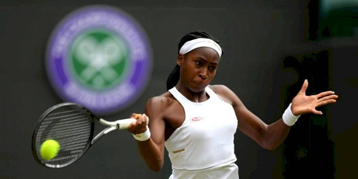 Fin de la aventura: La quinceañera Cori Gauff quedó eliminada ante Simona Halep en Wimbledon