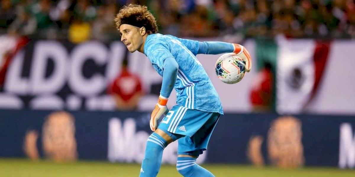 Guillermo Ochoa jugó lesionado la final de la Copa Oro