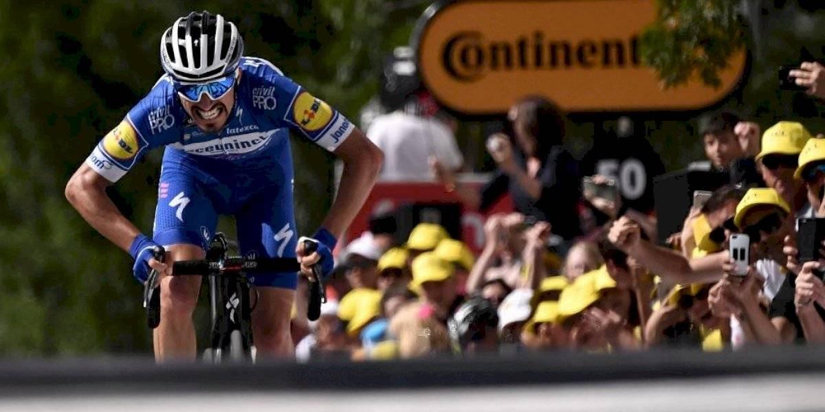 Julian Alaphilippe gana la tercera etapa del Tour de Francia