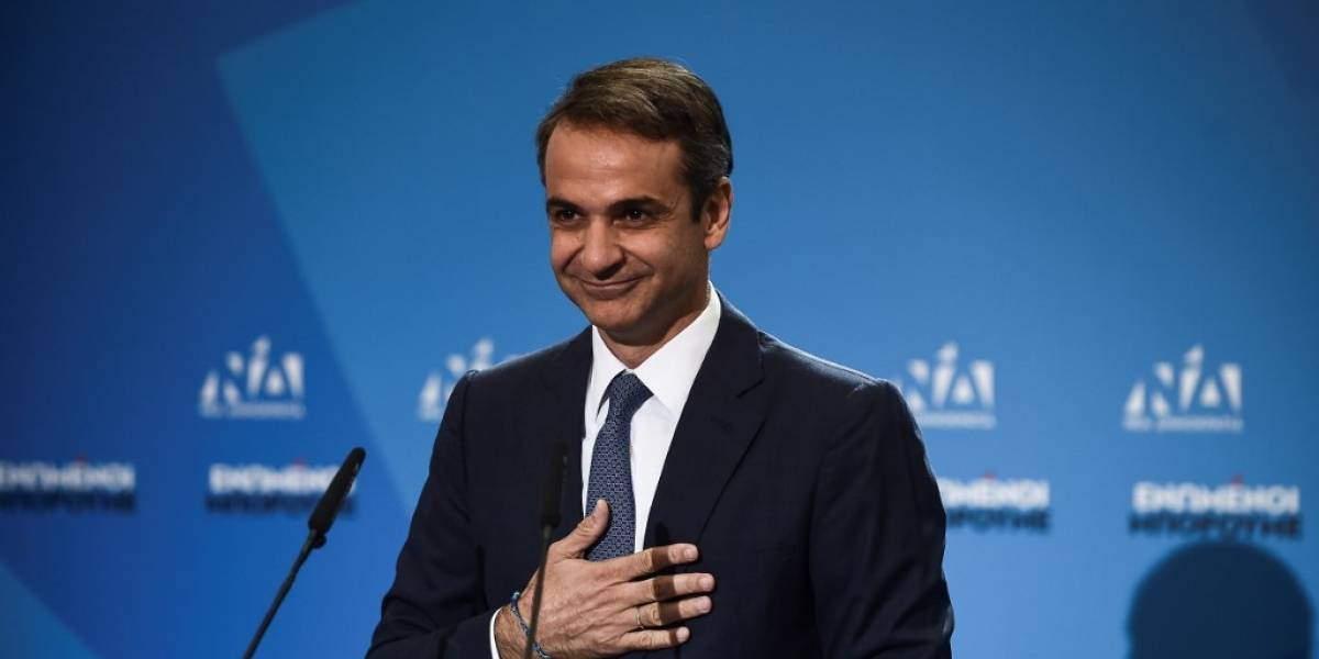 Mitsotakis jura como nuevo primer ministro de Grecia
