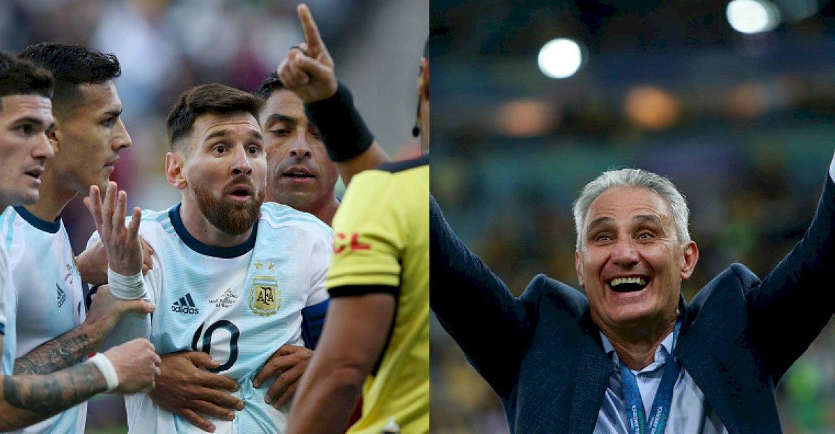 Lionel Messi y Tite Metro Ecuador