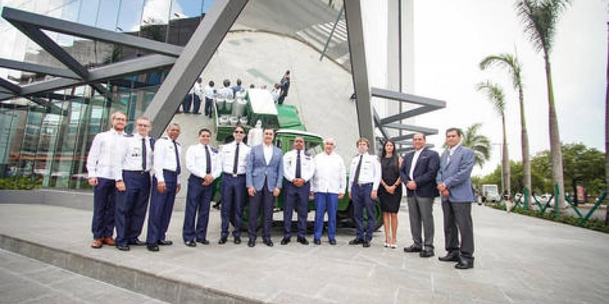 #TeVimosEn: MARTÍ recibe visita del Jefe del Cuerpo de Bomberos de Santo Domingo