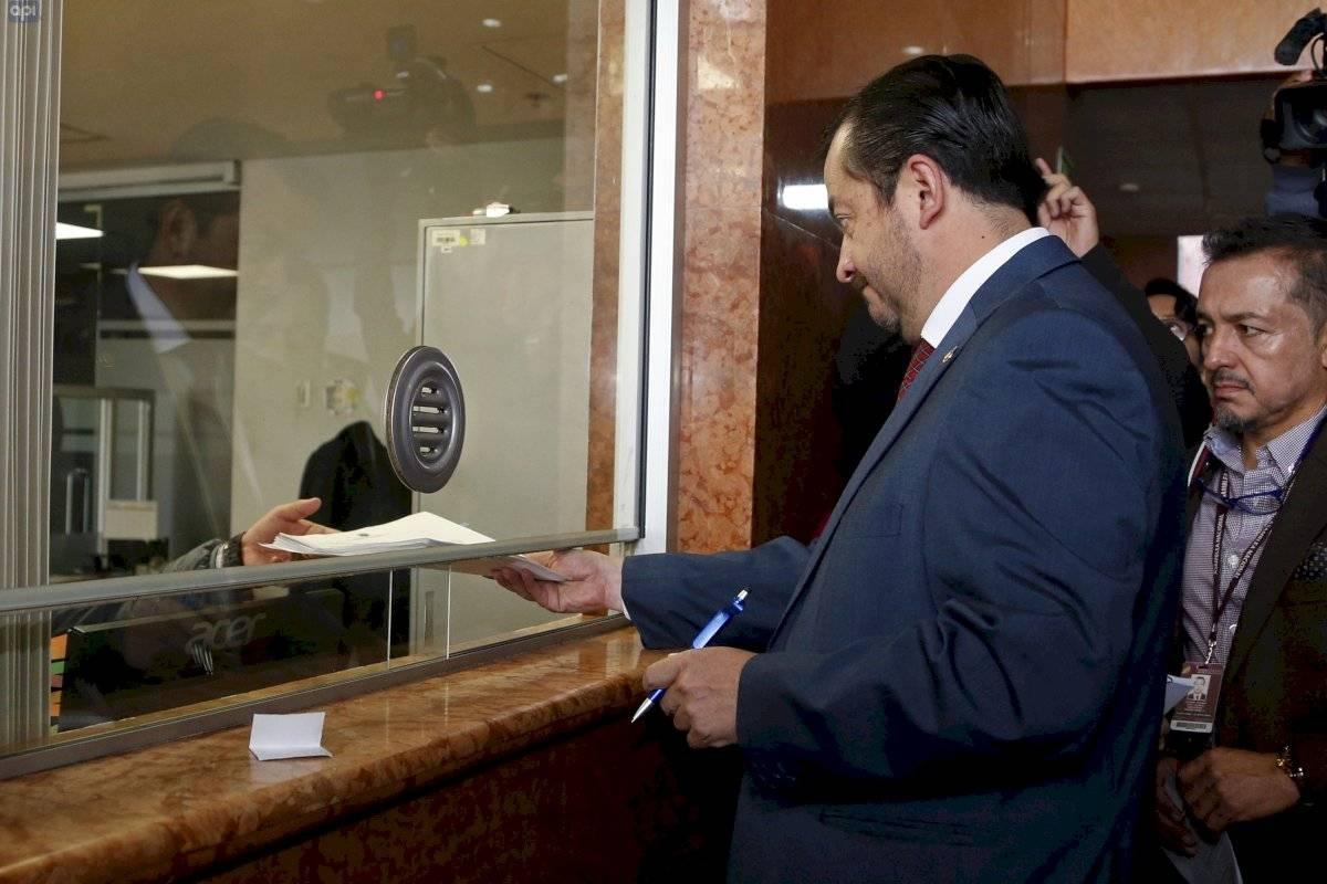 Fabricio Villamar oficializa pedido de juicio político contra José Carlos Tuárez API