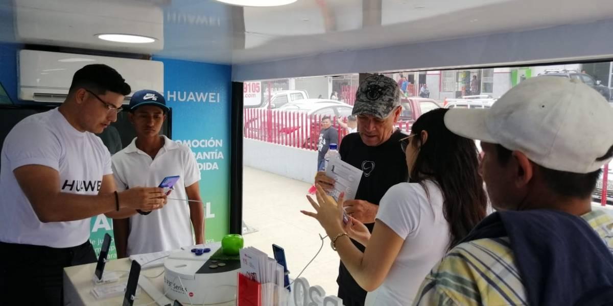 Huawei Ecuador presenta una serie de sorpresas y servicios para sus clientes