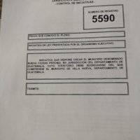 Ejecutivo plantea iniciativa para que Peronia sea municipio