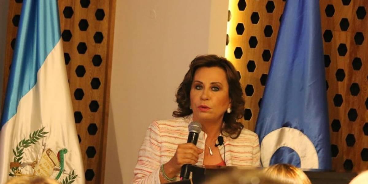 """Sandra Torres implementará una """"política de austeridad desde el primer día de gobierno"""""""