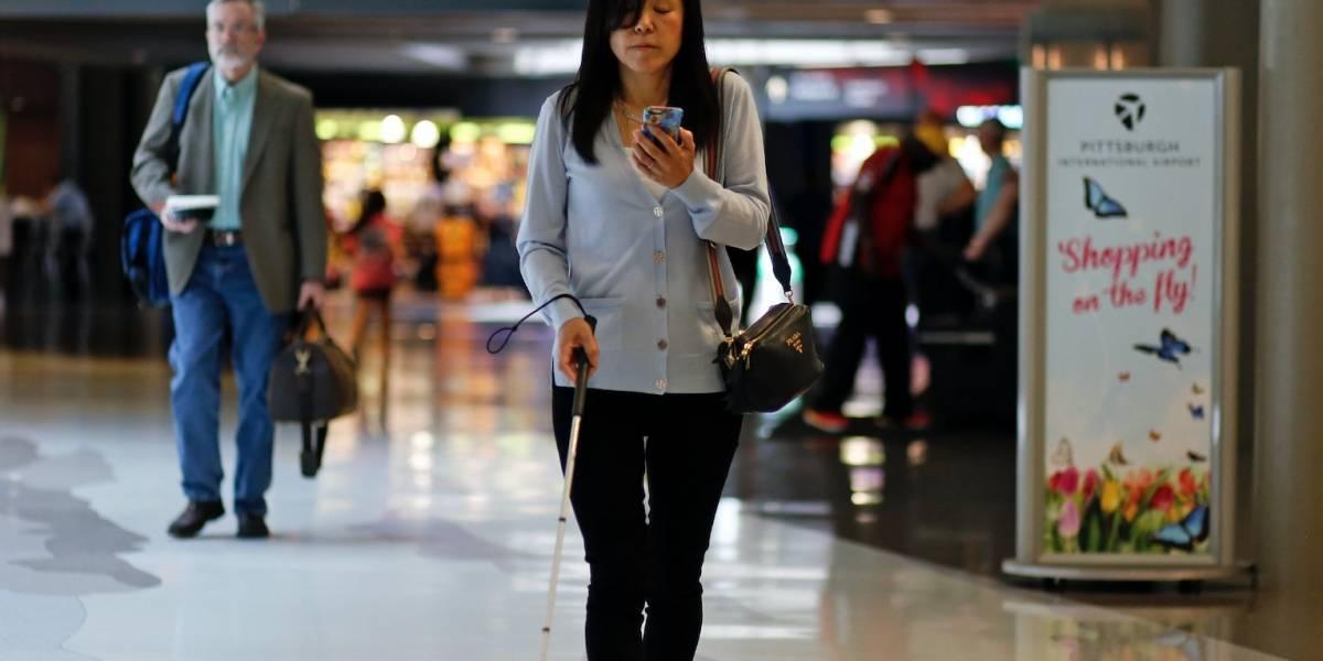 Desarrollan app para asistir a ciegos en aeropuertos