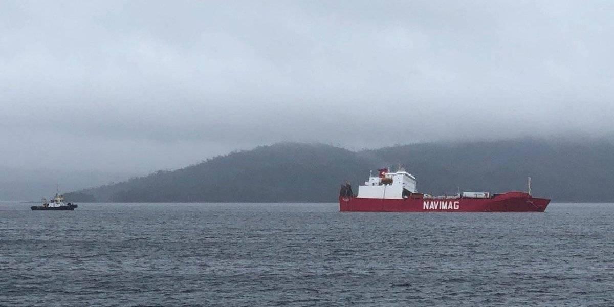 Fiscalía confirma investigación por suicidio de uno de los funcionarios que viajaban en el barco con vacunos de Aysén