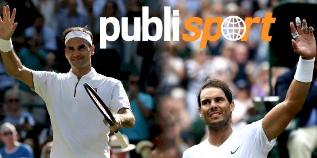 Djokovic, Nadal y Federer avanzan sin problemas en Wimbledon