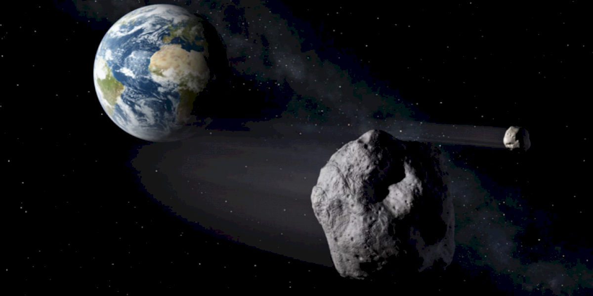 Dos asteroides pasarán más cerca que la distancia a la Luna esta semana
