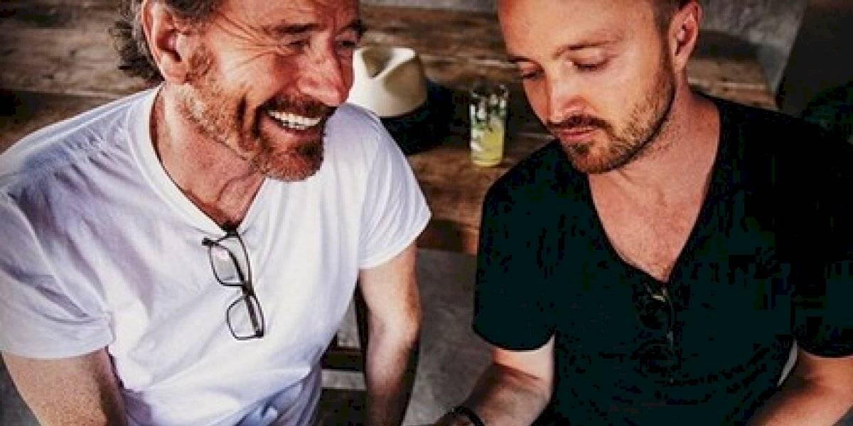 Dos Hombres, el mezcal de Aaron Paul y Bryan Cranston
