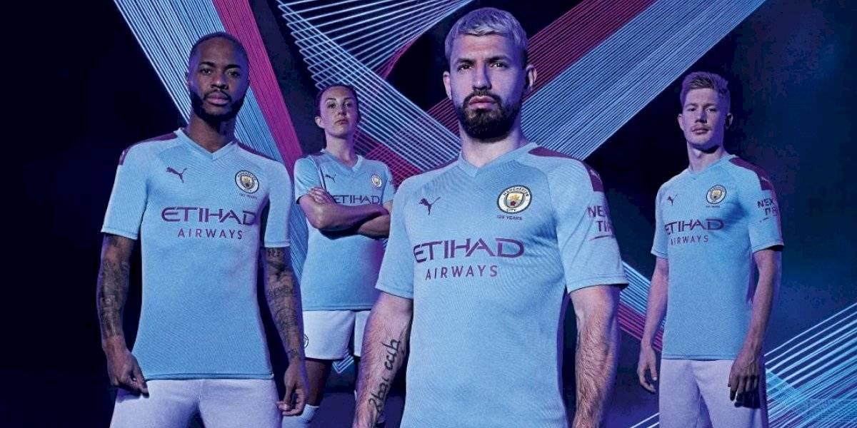 La nueva camiseta de Manchester City le rinde homenaje a la ciudad de Manchester