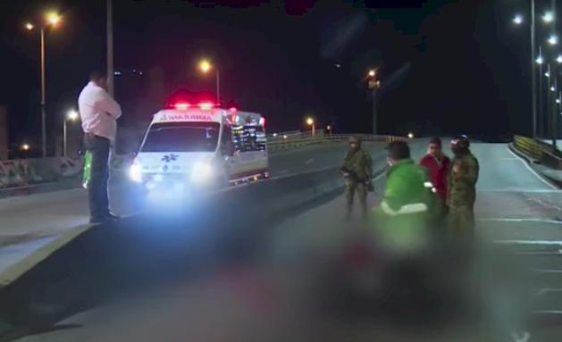 Accidente de una motocicleta en la calle 80 dejó una persona muerta